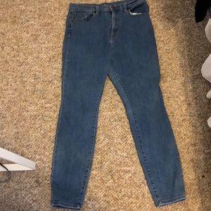 Super high rise twig BDG jeans size 32W 29L